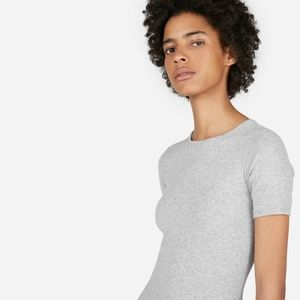 Everlane Dresses Pima Micro Rib Tee Dress Poshmark